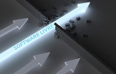 As linguagens de Software Livre eram utilizadas para construir a Internet atual