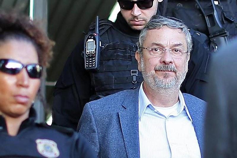 Ex-ministro Antônio Palocci está preso desde setembro de 2016 e já foi condenado a mais de 12 anos de prisão pelo juiz Sérgio Moro