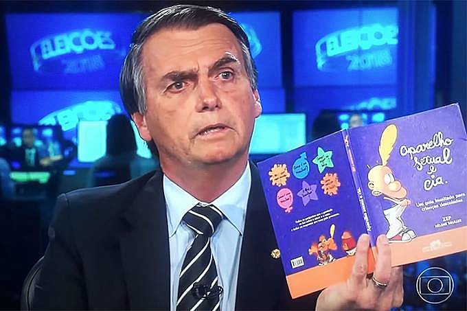 Bolsonaro utiliza exposição no Jornal Nacional para espalhar notícias falsas