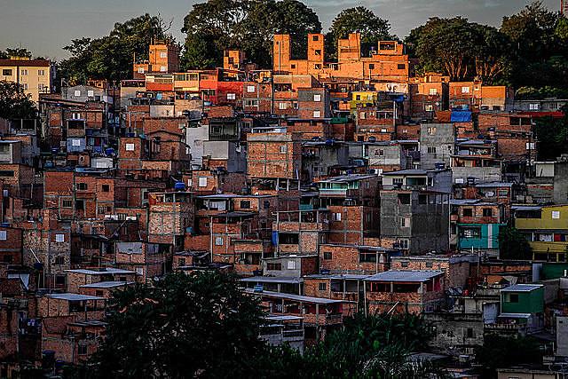 Vista panorámica de Jardín Celeste, barrio de la Zona Sur de São Paulo (SP)