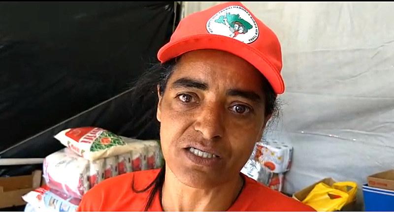 Zenilda Lisboa é militante do Movimento dos Trabalhadores Rurais Sem Terra no norte do Paraná