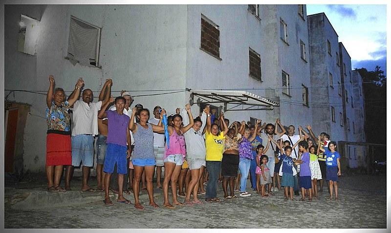 Moradores da ocupação Mulheres Guerreiras decidem resistir a despejo marcado pela Polícia Federal  para o dia 21, segunda próxima.