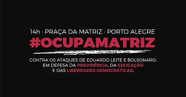 A mobilização terá aulas públicas sobre democracia e mercantilização da educação e da saúde, bem como atrações artísticas