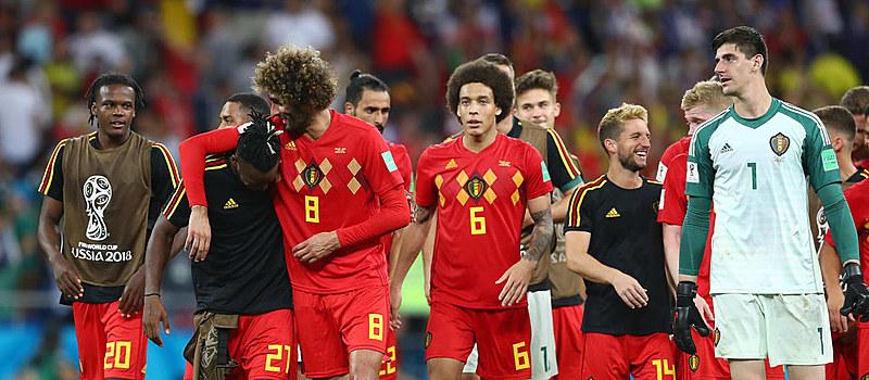 Esta é a segunda vez que a Bélgica disputará as quartas-de-final.