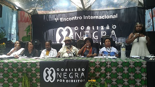La mesa estuvo compuesta por Vilma Reis, Sandra Maria, Maurice Mitchell, Edson França, Dulce Pereira, Monica Oliveira y Rose Torquato