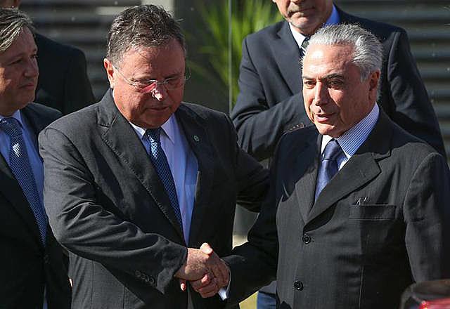 Michel Temer e Blairo Maggi