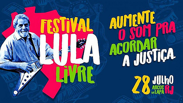 Organized by the People's Brazil Front and the People Without Fear Front, the festival will start at 2pm with art and music performances