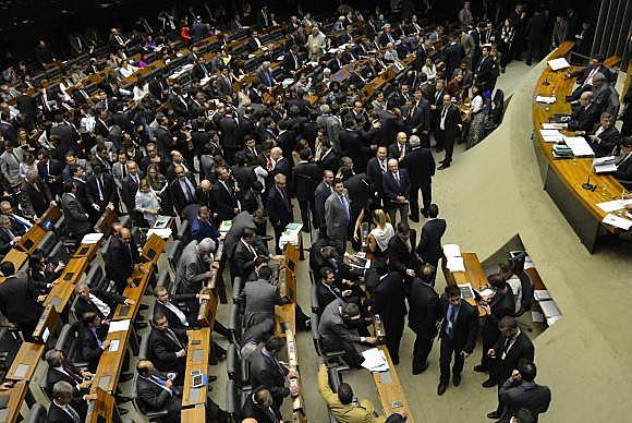Os deputados Beto Mansur (PRB-SP), Maria do Rosário (PT-RS), Heráclito Fortes (PSB-PI) e Fausto Pinato (PP-SP) desistirem da disputa nas últimas horas.