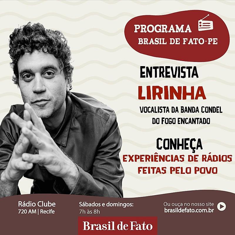 Lirinha falou sobre ligação com MST, novo álbum e relações entre arte e política