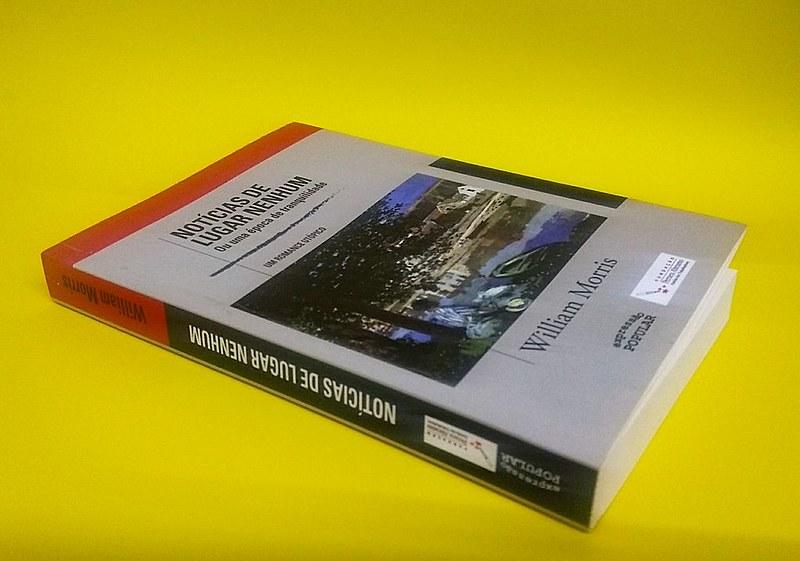 """""""Notícias de Lugar Nenhum"""", do romancista William Morris, é o lançamento de agosto do Clube do Livro"""