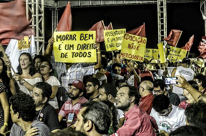 Militantes de todo o país participam do Encontro da Coordenação Nacional do movimento