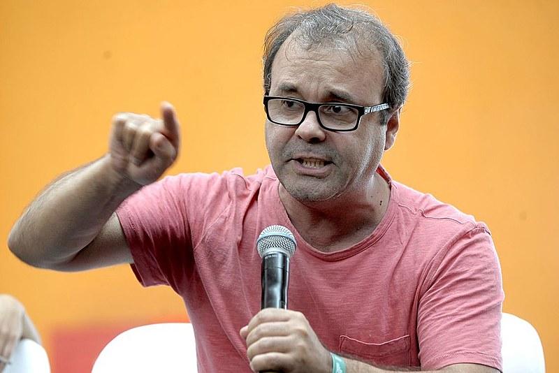 """Sérgio Amadeu no debate """"Internet como Espaço Público"""", no encontro global Emergências em 2015"""