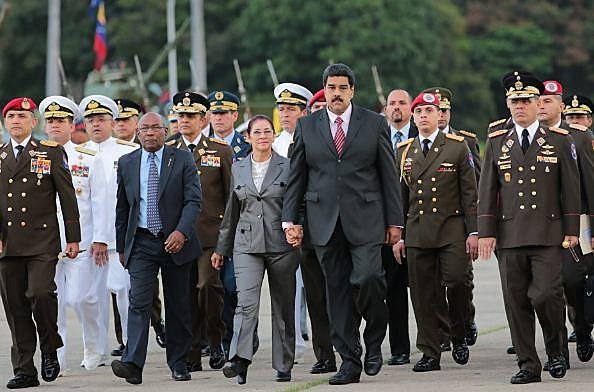 Presidente Maduro anunciou quatro novos ministros e aumentou a participação de militares no governo