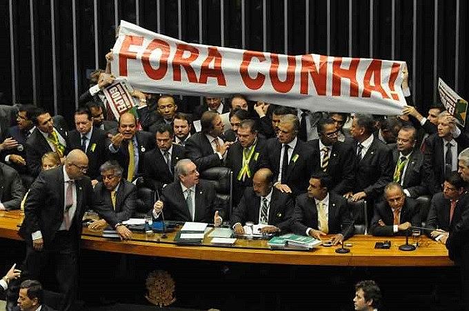 Seção da Câmara dos Deputados que decidiu pela admissibilidade do pedido de impeachment de Dilma Roussef