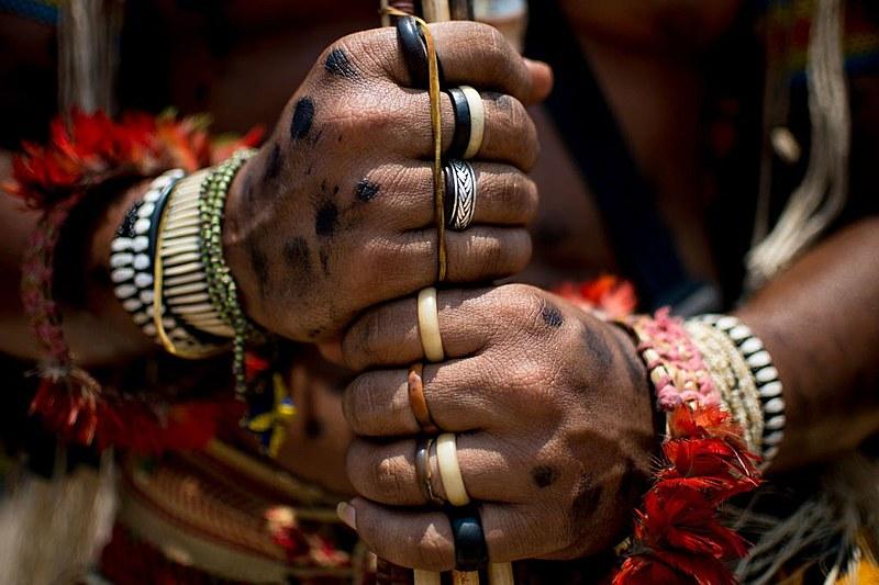 No Dia Internacional dos Povos indígenas realizam atos em capitais do país, contra o marco temporal