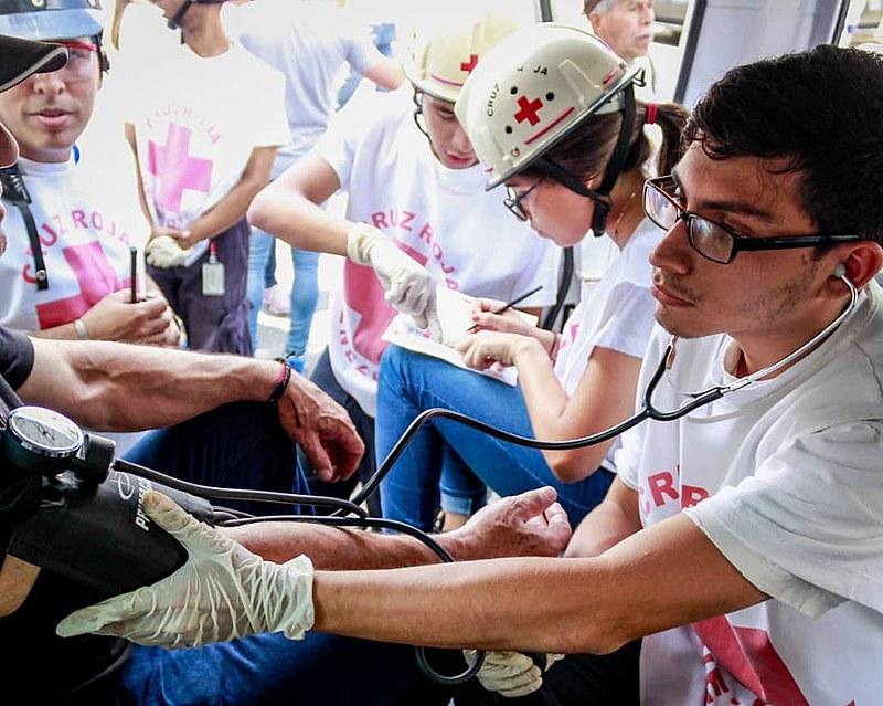 Cerca de 2 mil voluntários nacionais e internacionais vinculados à organização atuam na Venezuela