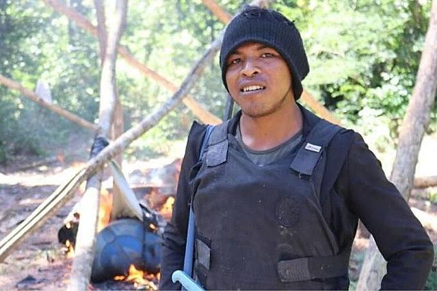 """Paulo Paulino integraba un grupo de agentes forestales indígenas conocido como """"Guardiões da Floresta"""""""