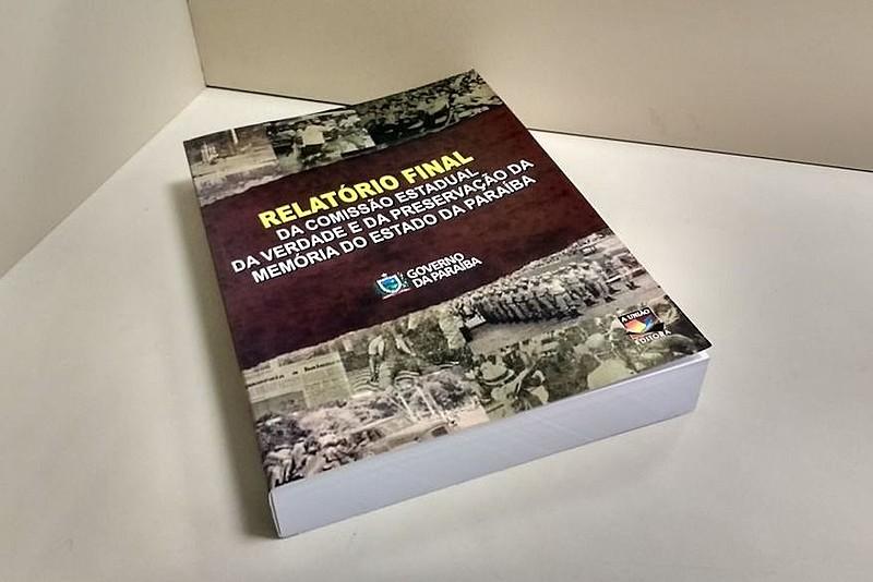 Relatório final da Comissão Estadual da Verdade da Paraíba é apresentado à população