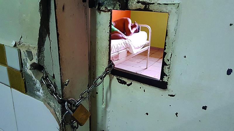 De 40 unidades pesquisadas, 82% têm internações de longa permanência, mostra relatório; conduta é ilegal