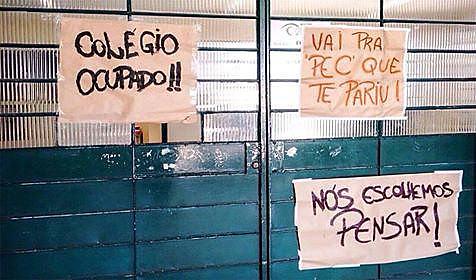 """El movimiento, apodado de """"Primavera Secundarista"""", crece a lo largo y ancho del país"""
