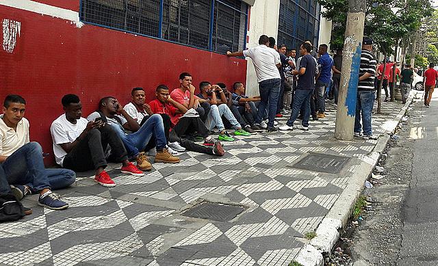 Actualmente, 13,8 millones de brasileños están desempleados