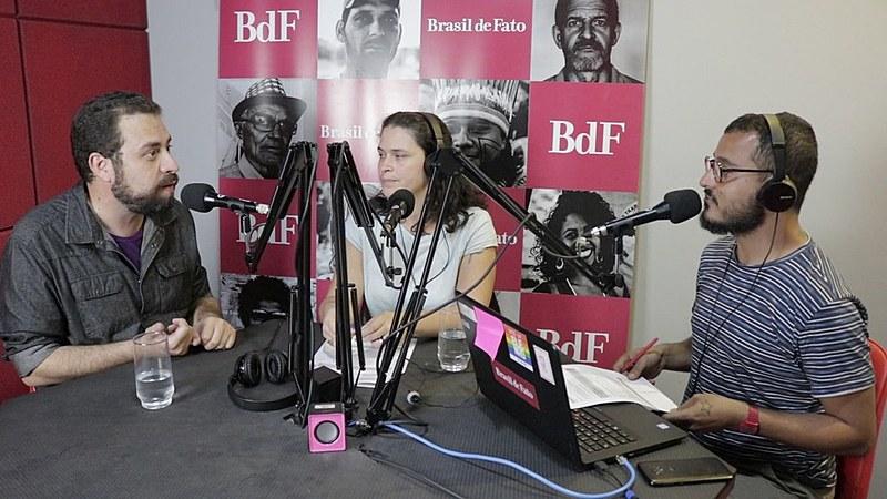 Guilherme Boulos foi o entrevistado do programa No Jardim da Política desta quinta-feira (15)