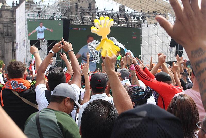 Brasil de Fato está na Cidade do México e mostra a alegria dos torcedores com a vitória da seleção mexicana