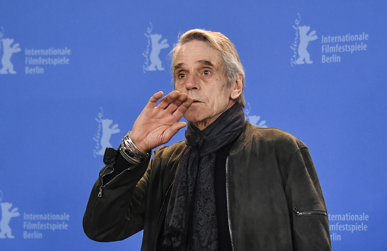 Jeremy Irons Berlinale