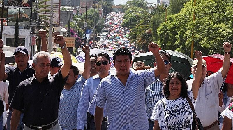 A greve geral atinge 28 dos 32 estados mexicanos