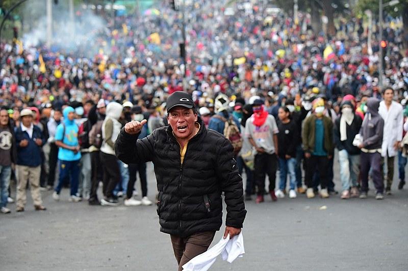 Equador vive mobilização de massas com impulso revolucionário contra um pacote de medidas econômicas