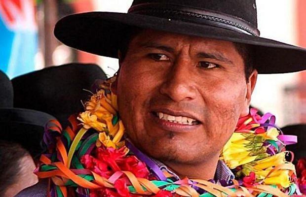 Walter Aduviri é um líder popular da etnia aymara e foi eleito governador de Puno em outubro de 2018