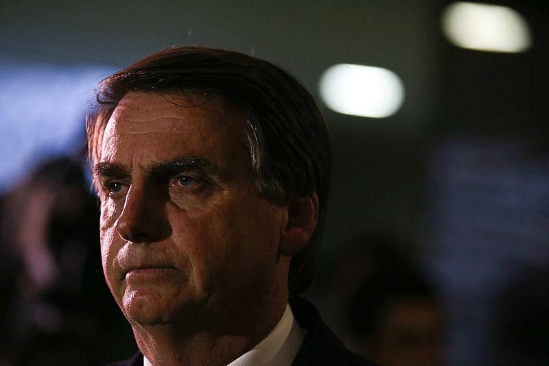 Jair Bolsonaro, um deputado que se intitula porta-voz dos defensores da ditadura empresarial militar de 64