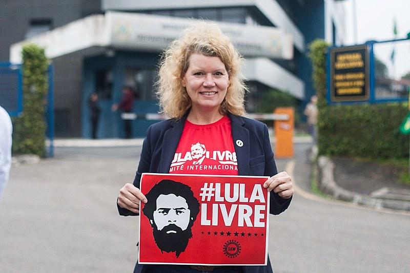 """Kristyne Peter, diretora de Relações Internacionais do """"United Auto Workers - UAW"""""""