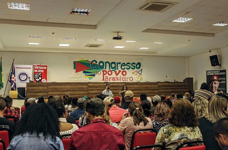 Encontro teve análise de conjuntura, debate e contribuição dos militantes para identificação dos desafios da classe trabalhadora
