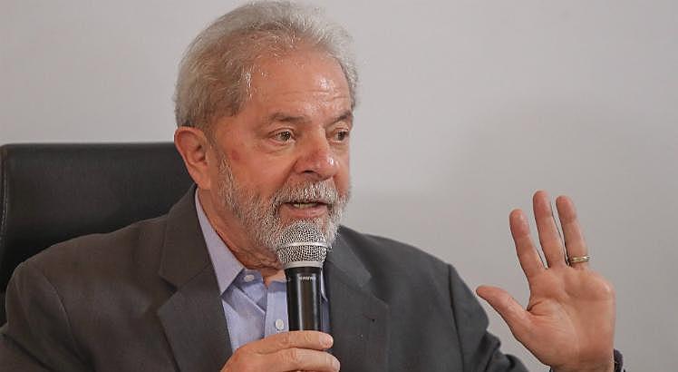 """Lula está preso desde abril do ano passado na superintendência da Polícia Federal, em Curitiba (PR), pelo """"caso triplex"""""""
