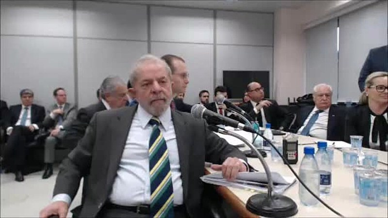 Lula prestou depoimento por quase três horas ao juiz Sérgio Moro.