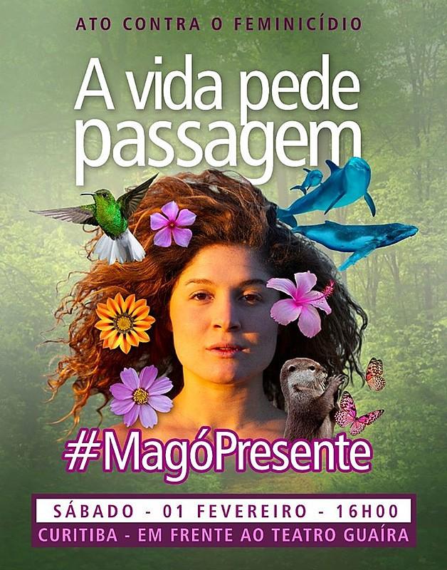 Em Curitiba, ato acontecerá no sábado, 01 de fevereiro, às 16h, em frente ao Teatro Guaíra, no Centro