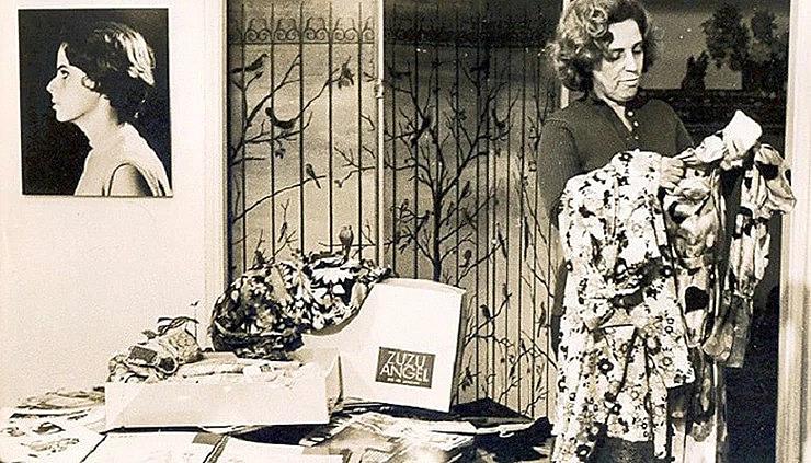 Zuzu denunciou de forma incansável o sequestro de seu filho, utilizando, inclusive, desfiles de moda