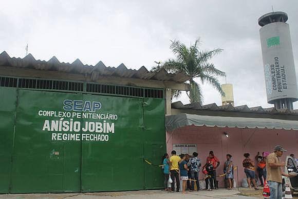 Complexo Penitenciário Anísio Jobim, em Manaus (AM)
