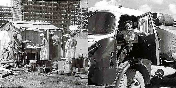 Na construção de Brasília, mulheres exerceram diferentes papéis