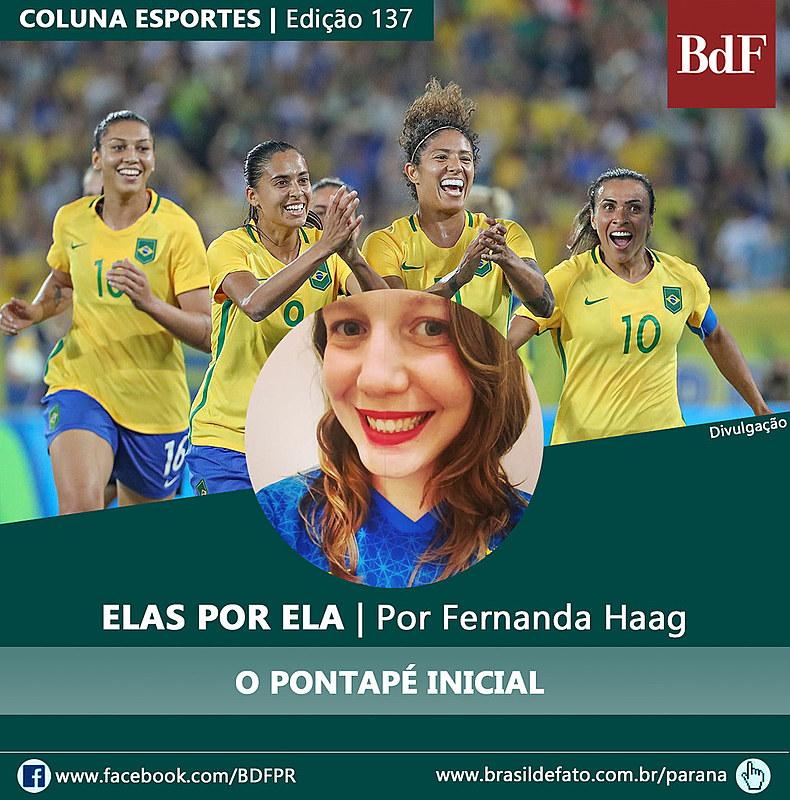 Fernanda Haag é colunista esportiva do Brasil de Fato Paraná