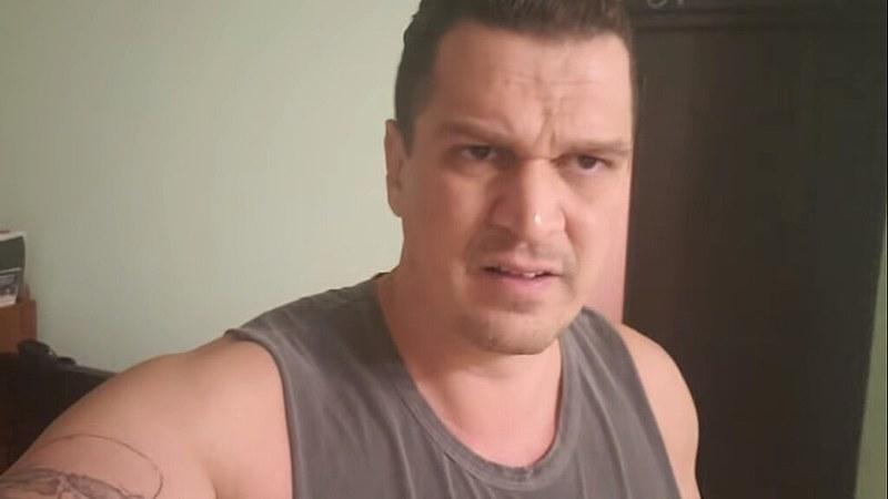 """Eduardo Fauzi no vídeo em que chama os integrantes do Porta do Fundos de """"bandidos"""""""