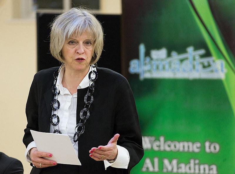 Nova primeira-ministra britânica Theresa May, em 2015