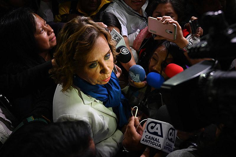 Ex-esposa de Álvaro Colóm, que governou o país entre 2008 e 2012, Torres liderou as pesquisas de intenção de voto durante várias semanas