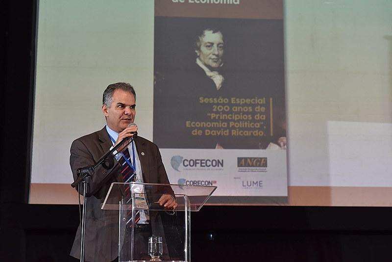 Paulo Bretas é presidente do Conselho Regional de Economia de Minas Gerais