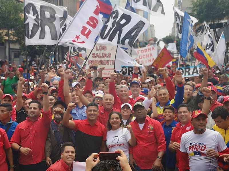 As atividades do 25º Foro de São Paulo ocorre entre os dias 25 a 28 de julho em Caracas, na Venezuela.