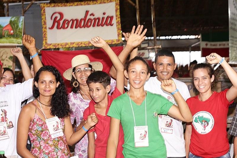 Delegações do norte e nordeste viajaram cerca de quatro dias para chegar à Feira Nacional da Reforma Agrária