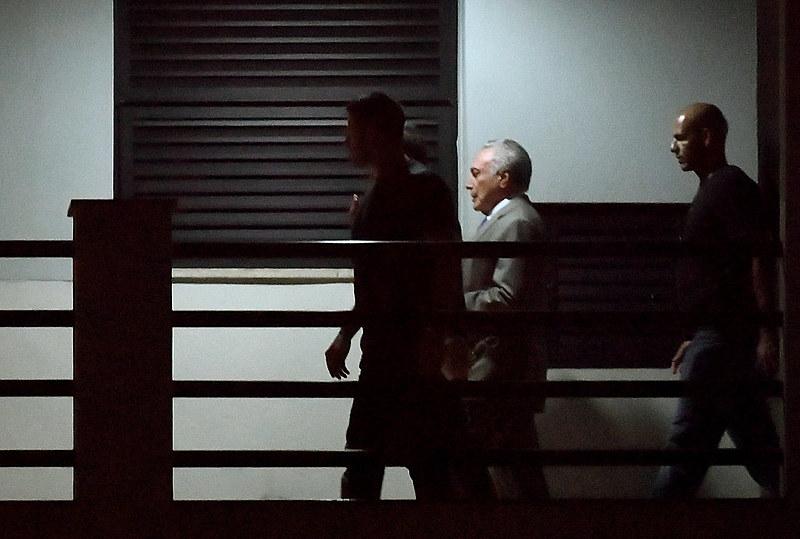 Justiça manda soltar Temer, preso na última quinta-feira (21)