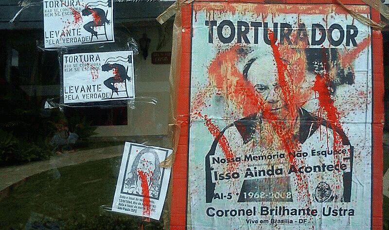 Movimento realiza atos contra torturadores da ditadura, desde 2012. As manifestações farão parte do livro, em memória às vítimas da Ditadura