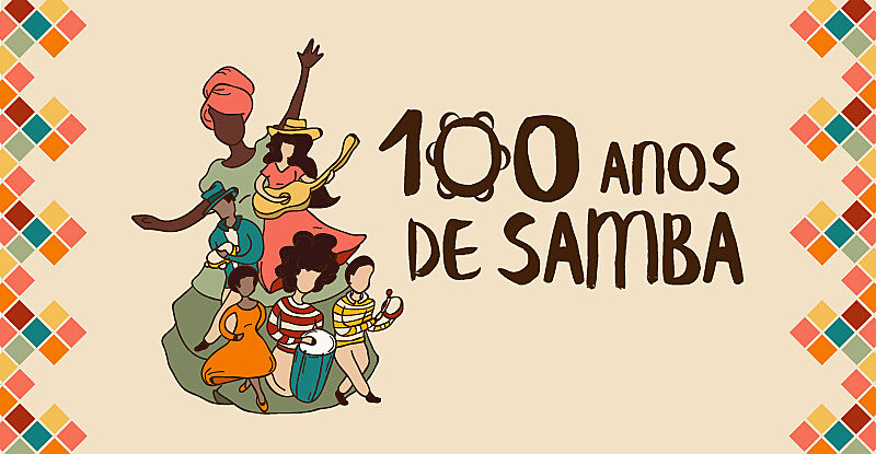 """Em 2016, comemora-se 100 anos da gravação do samba """"Pelo Telefone"""", no Rio de Janeiro (RJ)"""